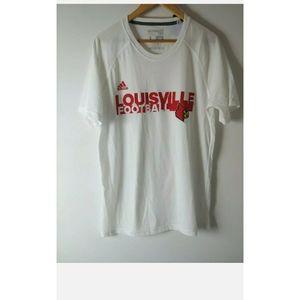 Adidas Loose Mens White Large Cotton T Shirt